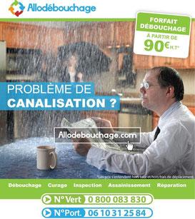 debouchage canalisation 34 toilette deborde