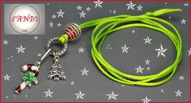 Weihnachtskette-Kinderkette-Weihnachten-Adventskalenderfüllung-Füllung-Zuckerstange-Weihnachtsbaum