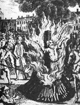 L'exécution de Iwan Tyszkiewicz a lieu en 1611 sur la place du grand marché de Varsovie. Pour le punir d'avoir blasphémé contre Dieu, le bourreau coupe la langue de Tyszkiewicz. L'ex-catholique est ensuite brûlé vif pour hérésie.