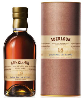 Aberlour 18 Jahre, Bourbon Cask Matured 0,7 ltr. Exclusive Batch - No. WLB 1013, La Maison du Whisky
