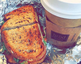 Frühstück New York City - Bröd Kitchen