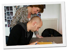 Isabelle Pasquereau atelier d'écriture en maison de quartier