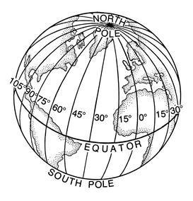 Längengrade (Q: Wikipedia)
