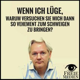 Julian Assange Lügen Medienlügen Lügenpresse Avatar Freie Medien