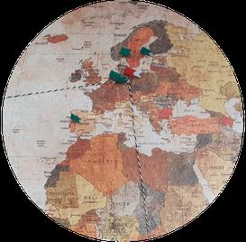 Routenplanung für eine Weltreise