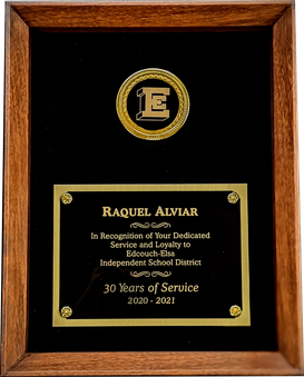 Years of Service Award Shadowbox Plaque