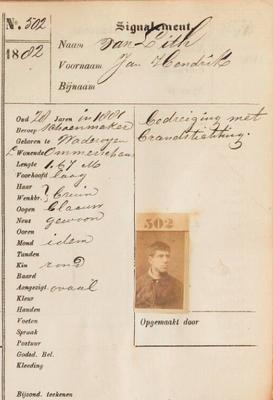 Signalementregister 1803-1956