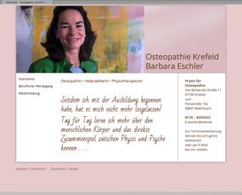 Barbara Eschler Osteopathie Krefeld