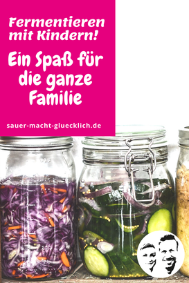 Fermentieren mit Kindern: Einfaches und leckeres Gürkchen-Rezept für die Kleinen