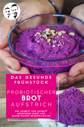 Probiotischer Brotaufstrich: Streich dir Power aufs Brot