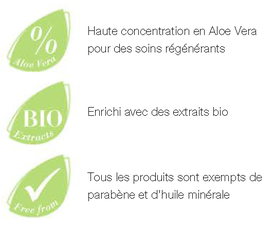 LR Health and Beauty : sans parabene et sans huile minérale : LR ALOE VIA