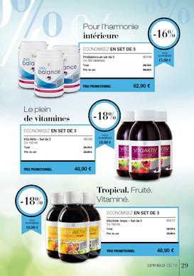 LR Health and Beauty Systems et Aloe vera Santé.    Une économie de -20 % à -45 % ou plus sur les compléments alimentaires