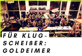 Team des Sozialunternehmens Goldeimer