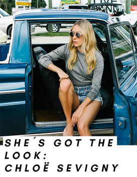 Chloe Sevigny in a car