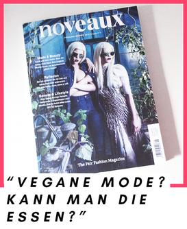 Ausgabe Nr. 5 von Noveaux (Vegan-Fashion-Magazin)