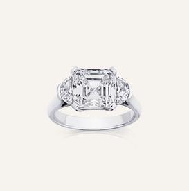 """Engagement Ring """"Asscher"""" by Koenig® Jewellery - 100% swiss handmade"""