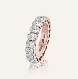 "Eternity Band ""Radiant"" by Koenig® Jewellery - 100% swiss handmade"