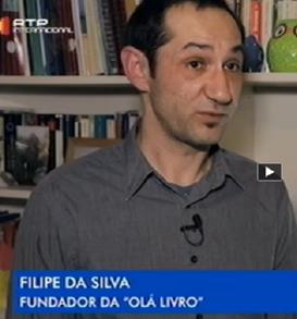 Video rtp internacional sobre livraria ola livro