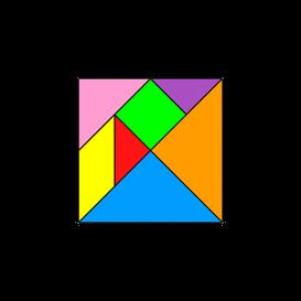 1 tangram