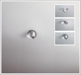 POP P04 Ø 12,0 cm, drehbar-schwenkbar, NV, HV, LED-Ausführung