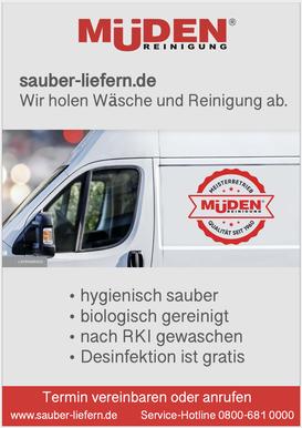 mueden.de, Waschservice, sauber liefern, Bild von Müden Lieferservice