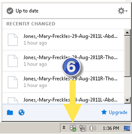 how to send multiple files on dropbox