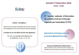 Fi lmc-journée nationale-LMC-association-informations-patients-échanges-LMC France