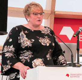 Norwegische Kultusministerin Trine Skei Grande © Friedhelm Herr/FRANKFURT MEDIEN.net