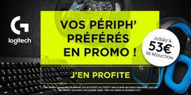 PROMO - Jusqu'au 15 mars, des périphs Logitech en promo ! Par ici : http://www.ldlc.com/n4195/#523d712af1ceb