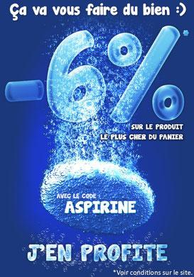 PROMO - 6% sur le produit de votre choix ! Jusqu'au 30 mai 2017, code : ASPIRINE ! Par ici :http://www.ldlc.com/n4207/#523d712af1ceb