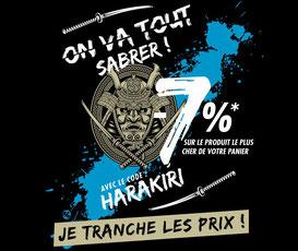 PROMO - 7% sur le produit le plus cher de votre panier avec le code HARAKIRI :) jusqu'au 08 août 2017. Go => http://www.ldlc.com/n4048/#523d712af1ceb