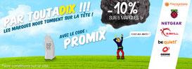 PROMO - 10% sur 6 marques, jusqu'au 04 mai 2017, code : PROMIX ! Par ici :http://www.ldlc.com/n4067/#523d712af1ceb
