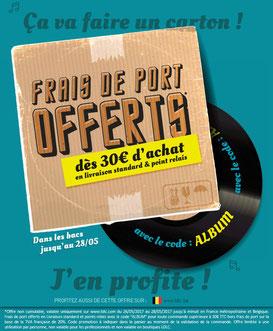 PROMO - Frais de port offerts dès 30€ d'achat ! Jusqu'au 28 mai 2017, code : ALBUM ! Par ici :http://www.ldlc.com/#523d712af1ceb