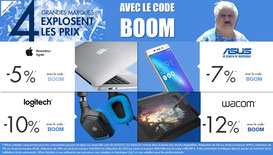 PROMO - 4 marques en promo, jusqu'à demain, code BOOM ! Par ici : http://www.ldlc.com/n4067/#523d712af1ceb