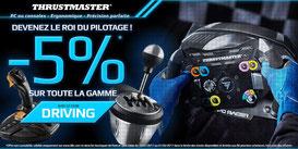 Promo sur toute la gamme Thrustmaster jusqu'au 1/02 , j'en profite => http://www.ldlc.com/thrustmaster/bint000004344/#523d712af1ceb