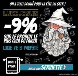 9% sur le produit de votre choix ! Jusqu'au 26 mai 2017, code : SERVIETTE ! Par ici :http://www.ldlc.com/n4048/#523d712af1ceb