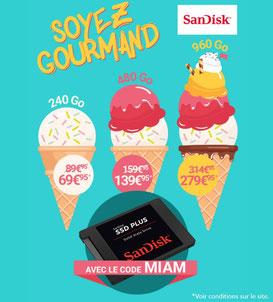 PROMO - 3 SSD en promo, avec le code MIAM jusqu'au 27 juin 2017 ! Par ici :http://www.ldlc.com/n4189/#523d712af1ceb