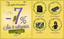 PROMO - Cartes graphiques, TV, casques-micros et NAS... 7 % sur 4 catégories ! Jusqu'au 21 avril 2017, code : CIGALE ! Par ici : http://www.ldlc.com/n4064/#523d712af1ceb