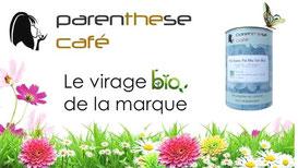 PROMO - Parenthese Café élève sa gamme et présente son nouveau catalogue qui confirme l'engagement Bio de la marque.  http://www.parenthesecafe.fr/boutique/?refid=Eddy_Cleret