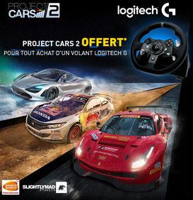 PROMO -  Project Cars 2 OFFERT pour tout achat d'un volant Logitech G. Offre valable jusqu'au 31/10/2017 dans la limite des stocks disponibles uniquement pour l'achat d'un volant Logitech G29 ou G920. https://www.ldlc.com/n4352/#523d712af1ceb