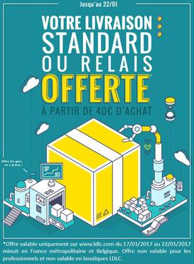 PROMO - Jusqu'à dimanche soir, frais de port gratuits à partir de 40 € ! Profitez-en ! Par ici : http://www.ldlc.com/#523d712af1ceb
