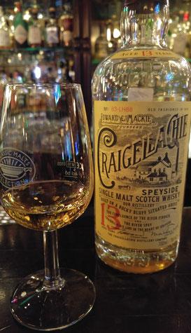 Craigellachie 13 Jahre Glas mit Flasche