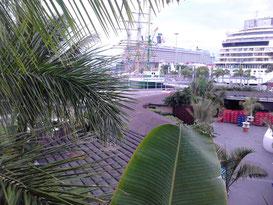Im Hafen von La Palma, AIDA Sol, Mein Schiff 4, Segler Alexander von Humbold