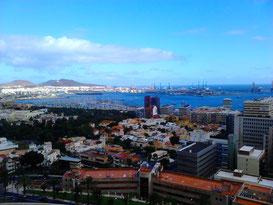 Las Palmas von oben