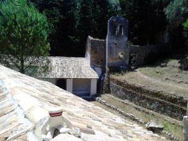 Mo im/auf dem alten Kloster von Nymfes