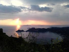 Super Sonnenuntergang am Chelidonipass