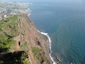 Auf dem Cabo Girao, Madeira
