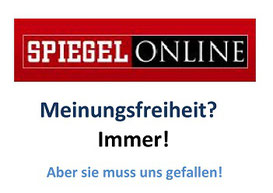 Spon.de und die Meinungsfreiheit.