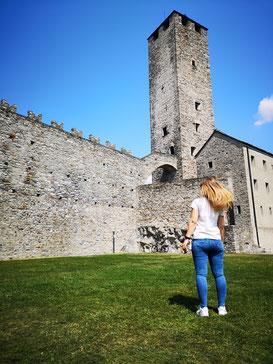 Castelgrande, Burg, Schloss, Bellinzona