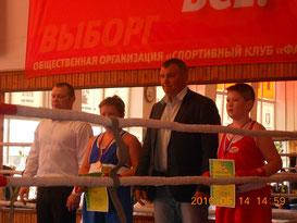 Михаил Попов и Никита Зайцев с наградами